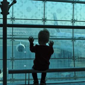 Uchvátený lietadlami na Dubajskom letisku